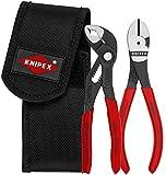 KNIPEX 00 20 72 V02 Mini-Zangenset in Werkzeuggürteltasche