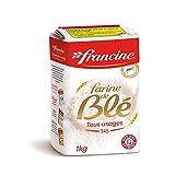 Francine Farine de Ble Tous Usages T45 Weizenmehl 2 x 1 kg