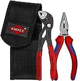 KNIPEX Mini-Zangenset in Werkzeuggürteltasche 2-teilig 00 20 72 V06