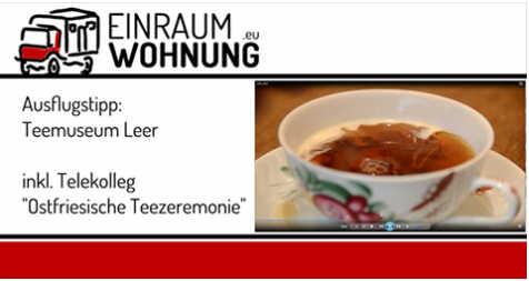 Reisetipp: Teestunde in Leer Ostfriesland