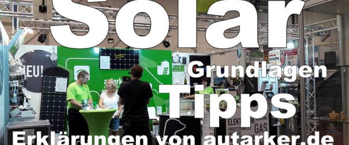 Kleiner Workshop zum Thema Solar