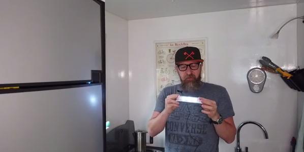 Tipp: Tipp: LED Leuchten mit USB und Bewegungsmelder für dunkle Schränke im Camper