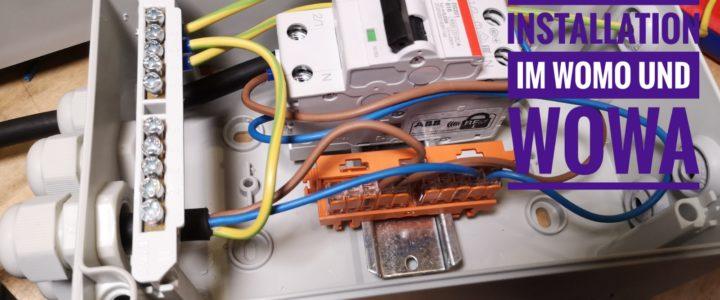 230V Installation im Wohnmobil und Wohnwagen – Inverter anschließen