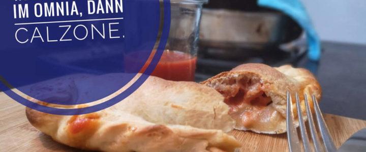 Pizza Calonzone im Omnia Backofen