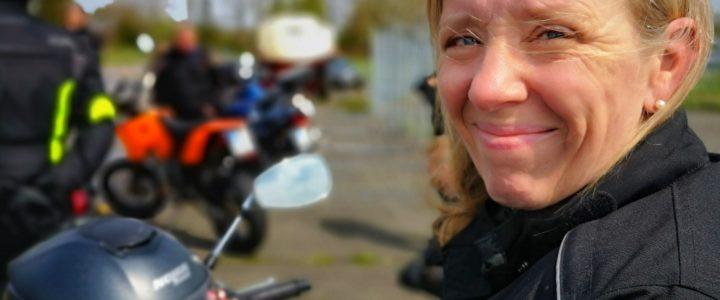 """""""Ich kann Motorrad fahren!"""""""
